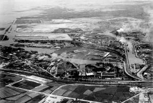 Nasce e si espande l'area industriale di Porto Marghera