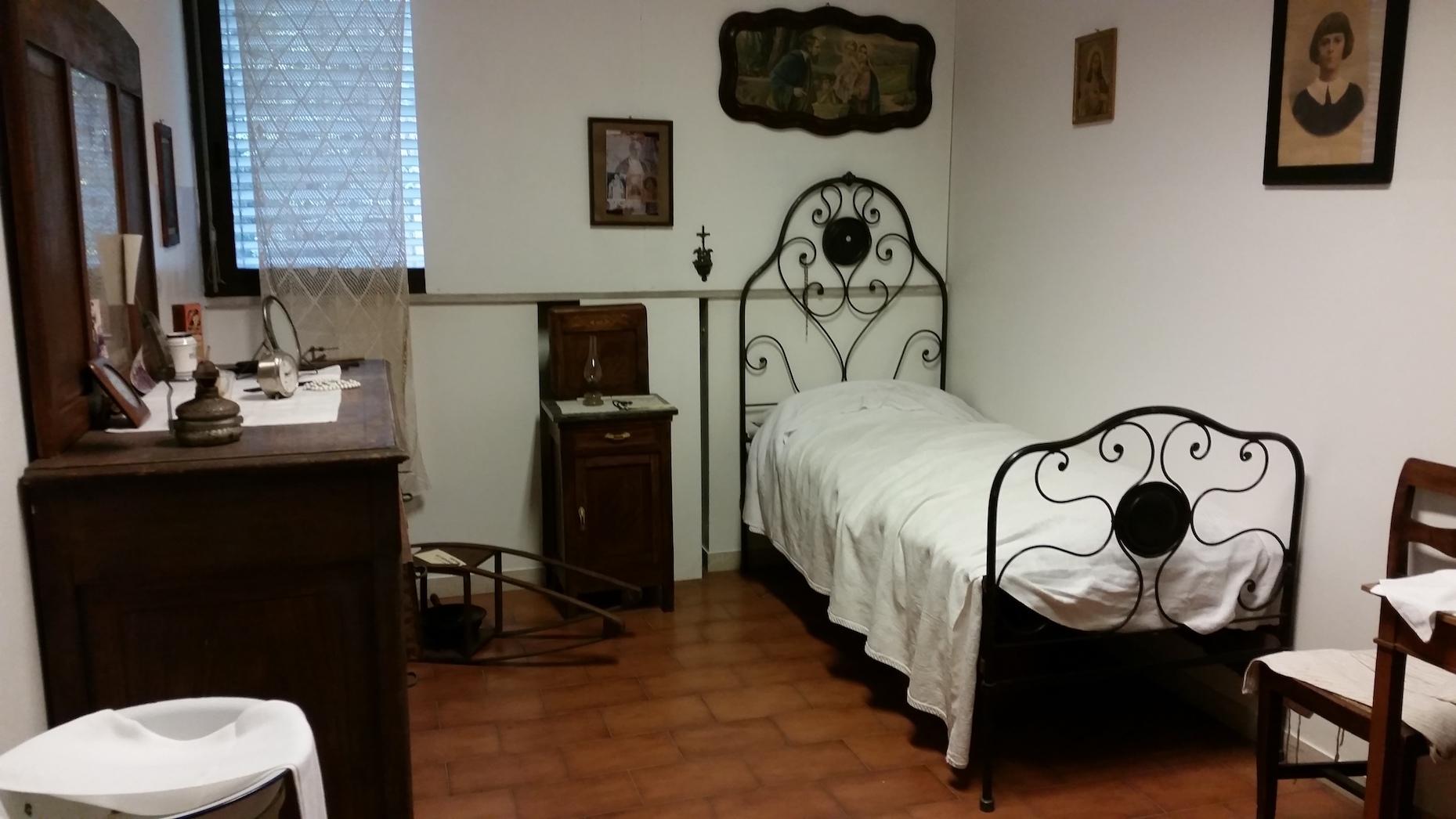 Ricostruzione della camera da letto