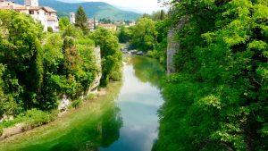 Cividale del Friuli_ fiume Natisone. (foto del ns socio Lionello Pellizzer)