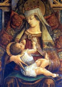 Corridonia Crivelli Madonna del latte