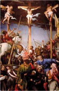 Crocifissione Lorenzo Lotto