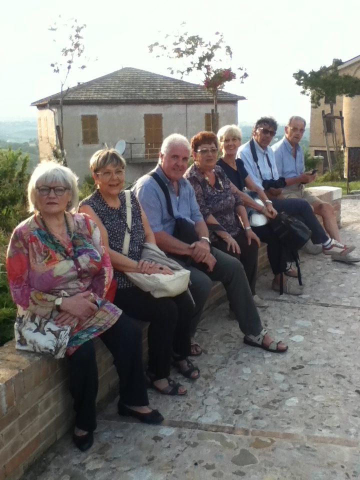 Delegazione di campaltini/veneziani ai festeggiamenti del 30° anno di gemellaggio fra le comunità di Loro Piceno e St. Nikolai