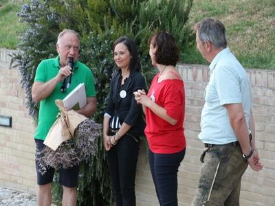 Saluto dei Campaltini alle comunità di Loro Piceno e di St. Nikolai nel loro 30° del gemellaggio.