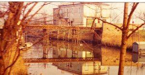 Passo Campalto 1977 Ponte in ferro (foto di Pino Sartori)