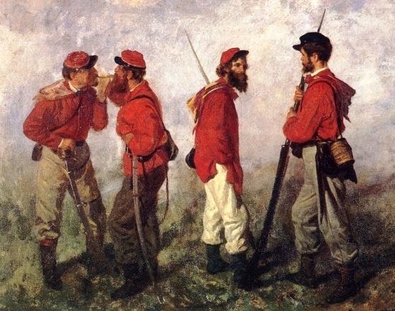 Filippo Pelizzi : Garibaldini