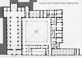 Pianta Monastero Fiastra