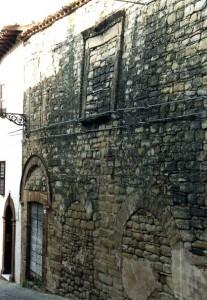 San Ginesio edificio medievale