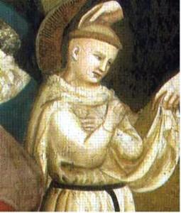 San Nicola bambino raffigurato con l'aureola prima della canonizzazione
