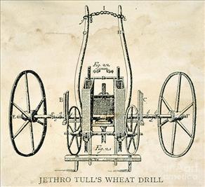 Figura 3: Seminatrice meccanica di Tull