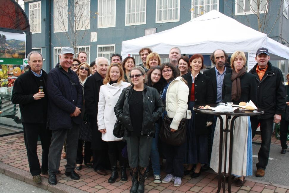 Ospiti  nonchè amici Austriaci e Loresi alla nostra festa di San Martino in Strata (Campalto)